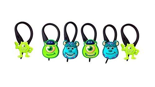 [AVIRGO 6 pcs Soft Zipper Pull Charms for Backpack Bag Pendant Jacket Set # 78-3] (Oozma Kappa Costume)