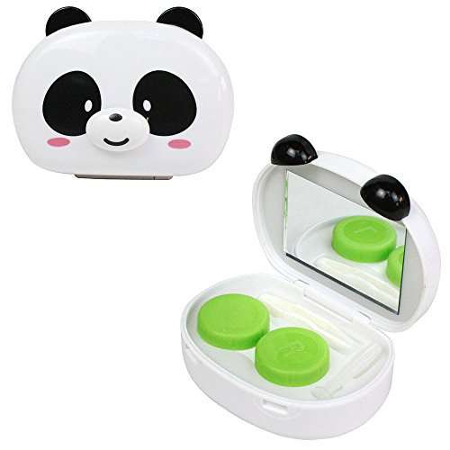 Kit JAVOedge 3D Panda Contact Lens (Blanc)