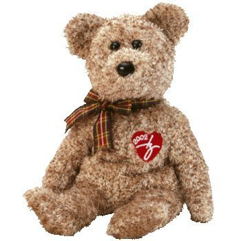 Ty Beanie Babies 2002 Signature Bear Retired [Toy] ()