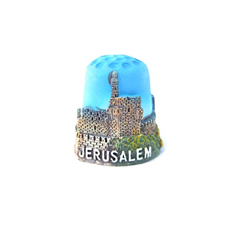 Thimble Souvenir From Israel & Palestine Sewing Holyland Thimbles Collection