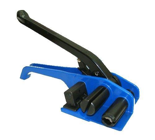 9mm - 25mm Haspelspanner PP/ PET Band Textilbandumreifung Bandspanner Spanngerät Einhebelspanner