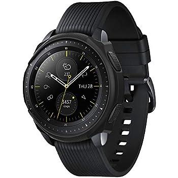 Spigen Liquid Air Armor Designed for Samsung Galaxy Watch Case 42mm (2018) - Black