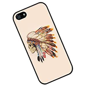 S9Q Aztec Tribal Vintage Retro Painting Pattern Hard Shell Case Back Cover Skin Protector For iPhone 5C Style A