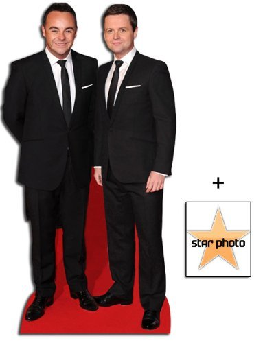 Fan Pack - Ant and Dec Lifesize Cardboard Cutout / Standee - Includes 8X10 (25X20Cm) Star Photo by (Starstills UK) Celebrity Fan Packs