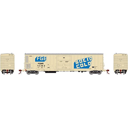Used, Athearn N Scale 57' Mechanical Reefer Car FGE/FGMR/Solid for sale  Delivered anywhere in USA