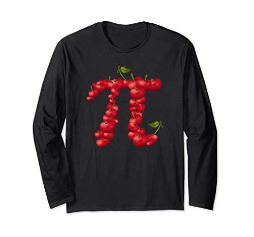 (Cherry Pi T-shirt | Pi Day Shirt for Pie Lovers & Math Nerds)
