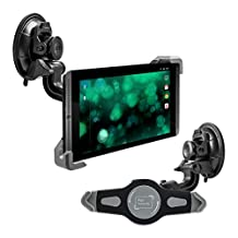 kwmobile car shield mount for Nvidia Shield Tablet / Shield K1 Tablet - car mount with suction cup in black