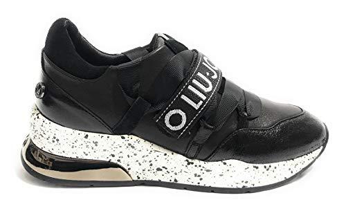 Basses Sneaker Baskets B68001 Femme Jo 03 Karlie Noir Chaussures Px001 Liu nxTw1I4