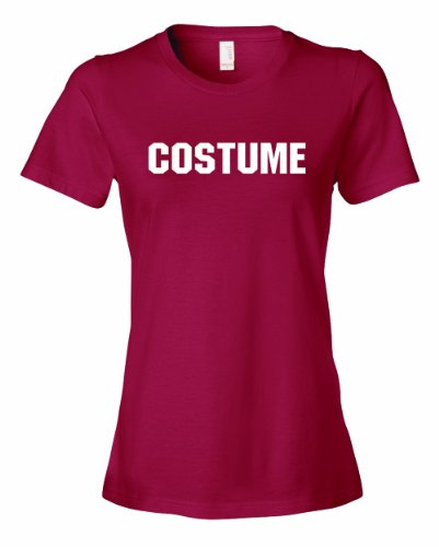 Ladies COSTUME. This Is My Generic Halloween Costume. T-Shirt-Cardinal-Large (Hilarious Halloween Costumes For Couples)