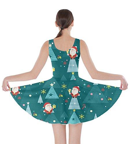 5xl Inverno Vestito Cowcow Natale Neve Cervi Di Santa Turchese Natale Xs Skater Womens Ornamenti wFqxHzPq