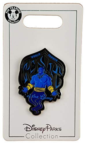 - WDW Trading Pin - Aladdin Live Action Film - World Famous Genie of the Lamp