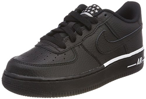 Bambino 036 black Nike Force white Scarpe 1 Nero Da gs Basket black Air F0vr0wxq7