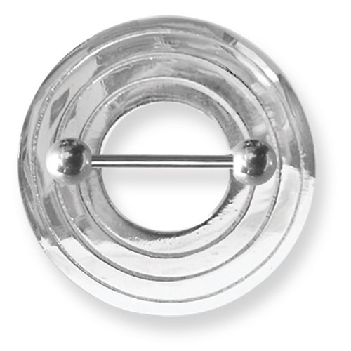 Leslies Fine Jewelry Surgical Stainless STL BB w Nipple Shield