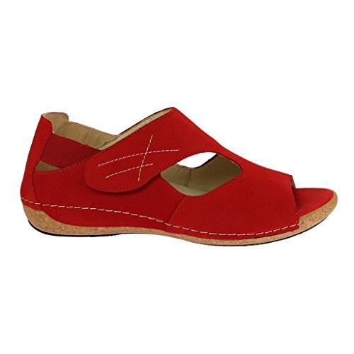 Rôdeur sandales heliett, couleur :  rouge