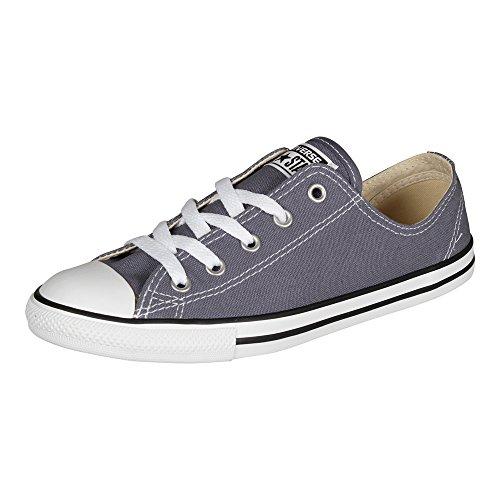 Converser Toutes Les Star Dainty Ox Sneakers Femmes Gris Bleu