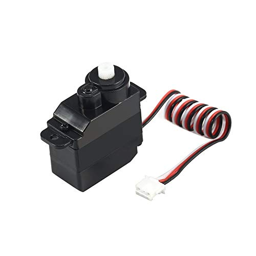 Windwinevine 7.5g Plastic Gear Analog Servo 4.8-6V for Wltoys V950 RC Helicopter Airplane Part Replacement Accessaries