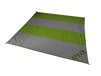 ENO – Eagles Nest Outfitters Islander Travel Blanket, Lime Charcoal