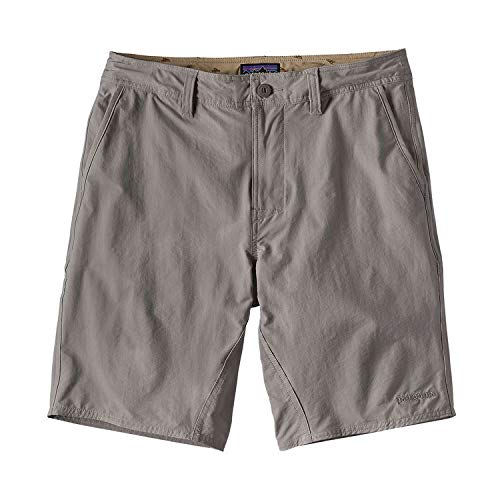 Patagonia Mens Stretch Wavefarer Walk Shorts 20 in. Feather Grey (30W/20L)
