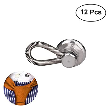 ultnice 12pcs metal collar extensores botón extensor para ...