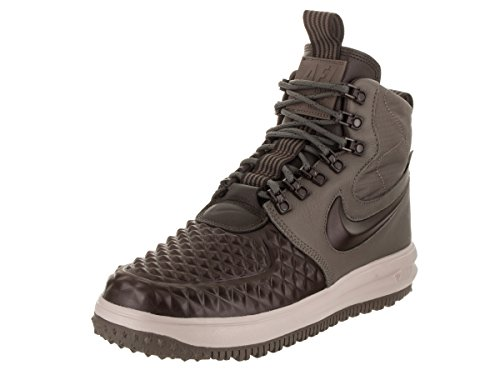 Brown Mens Basketball - NIKE Men's LF1 Duckboot '17 Ridgerock/Velvet Brown Casual Shoe 10.5 Men US