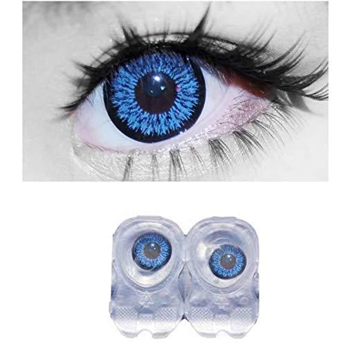 Soft Eye Color Contact Lens (Deep Blue)