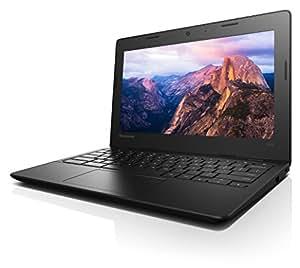 "Lenovo Ideapad 100s - Chromebook 11.6"" Laptop (Intel Celeron, 2 GB RAM, 16 GB SSD, Chrome) 80QN0009US"