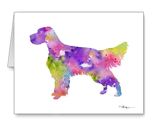English Setter - Set of 10 Note Cards With Envelopes (English Setter Note Cards)