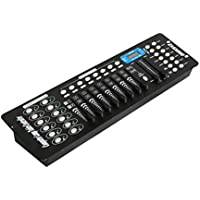 Controlador DMX512 de 192 canales, controlador profesional DMX