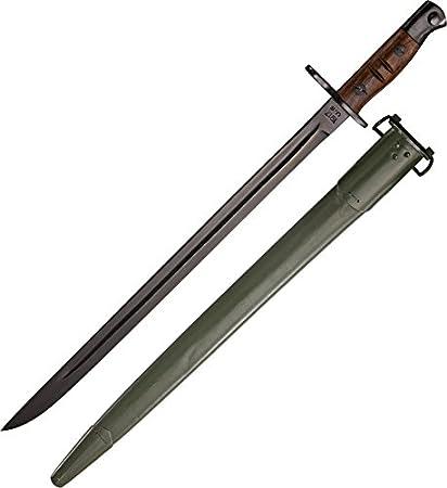 Amazon.com: Museo réplicas Enfield m-1917 bayoneta cuchillo ...