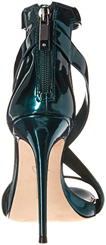 Metallic Sandal Women's Devin Camuto Deep dress Imagine Vince Emerald qzAYaY