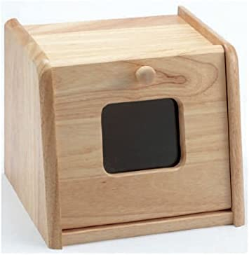 Mini Wooden Bread Bin