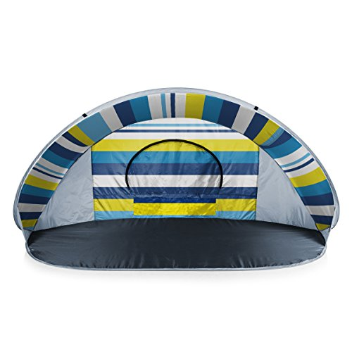 ONIVA - a Picnic Time Brand Manta Portable Pop-Up Sun/Wind Shelter, Beach Stripes from ONIVA - a Picnic Time brand