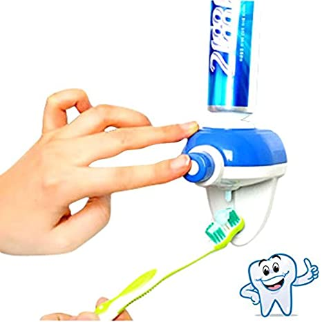 Amazon.com: Cereal - Automatic Toothpaste Squeeze Hand Dispenser Bathroom Accessory Touch Squeezer Holder - Animal Creative Dispenser- Simon Random Stocking ...
