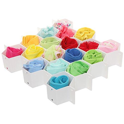 Plastic Honeycomb Storage Organizer Underwear