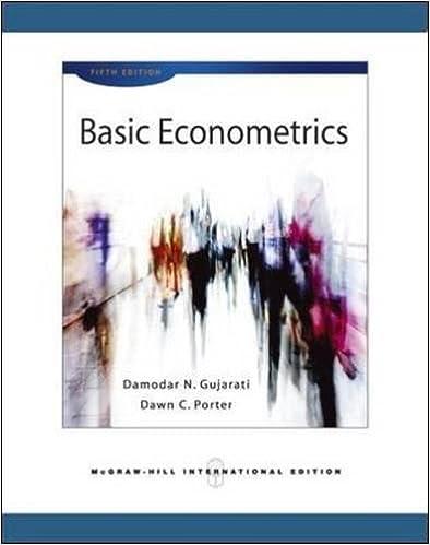 Basic econometrics gujarati 5th edition ppt.