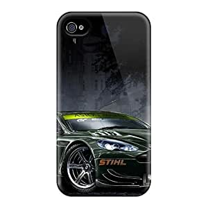 Premium Aston Martin Heavy-duty Protection Case For Iphone 4/4s