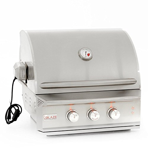 Blaze Professional 27-inch Built-in Propane Gas Grill With Rear Infrared Burner - Blz-2pro-lp Blaze Outdoor Products