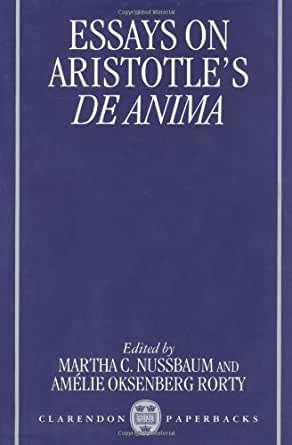 rorty essays on aristotle poetics