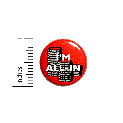 Poker Button I'm All In Chips Red Texas Hold 'Em Jacket Pin Cool Gift 1