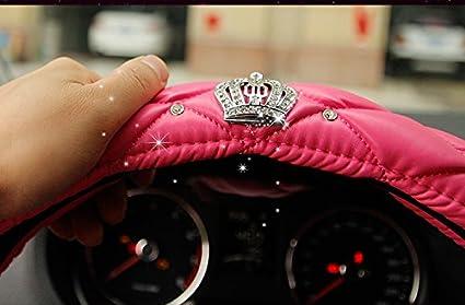 in lattice naturale atossico e inodore guida sicura /carino e rosa NewL auto coprivolante per ragazze e donne/ nero