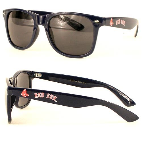 (New MLB Wayfarer Style Boston Red Sox SunGlasses - COOL-SHADES-Merchan dse )