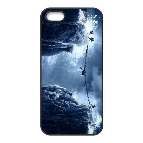 Everest Movie coque iPhone 5 5S cellulaire cas coque de téléphone cas téléphone cellulaire noir couvercle EOKXLLNCD23597