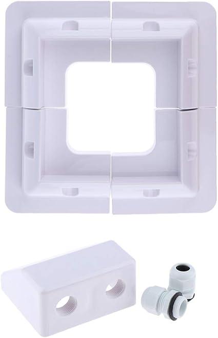 KESOTO - 5 cables para caja de conexiones eléctricas RV, color ...