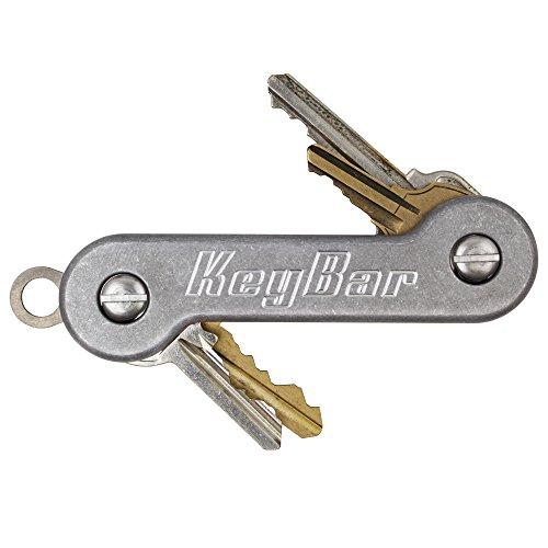 Stonewashed Aluminum KeyBar Key Organizer by KeyBar