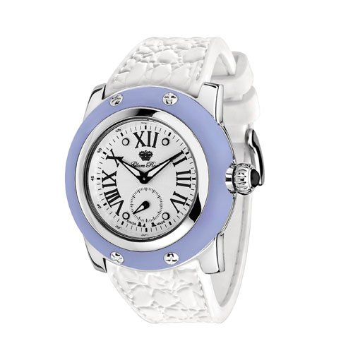 Glam Rock Womens GR30015AW Summer Time Collection Blue Silicone Watch by Glam Rock
