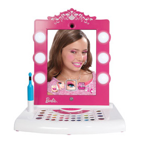 Barbie Vanity Light Up Mirror : Amazon.com: Barbie Digital Makeover Mirror: Toys & Games