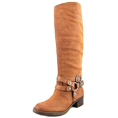 High Lucky Toe Brand Fashion Closed Hanah Knee Toffee Boots Womens Y6rUwPqY