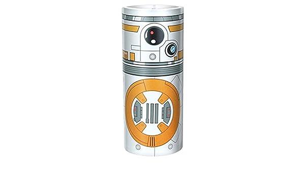 Amazon Com Disney Star Wars Desk Lamp White Orange Toys