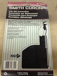 Smith Corona, Lift-off Correcting Cartridge, Lift-RiteTM, C16345, Single Pack by Smith Corona by Smith Corona