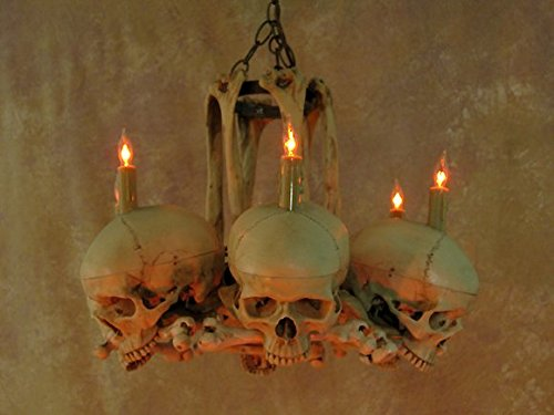 Skull hip bone chandelier the obsessed with skulls store aloadofball Image collections